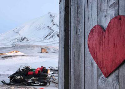 Bamsebu Hut Heart