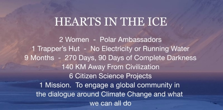 Hearts In The Ice GoFundMe Campaign
